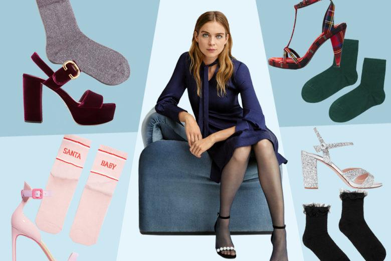 Sandali + calze: la combo perfetta da indossare anche d'inverno