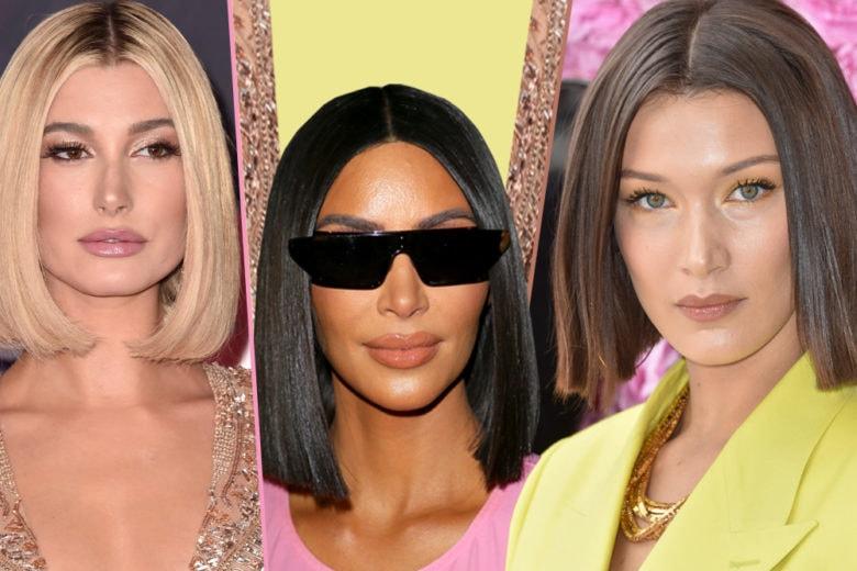 Glass hair: la tendenza dei capelli a caschetto super lucidi che ha conquistato le celebrity