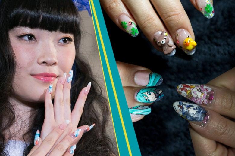 Japanese nail art: le migliori manicure ispirate ai manga