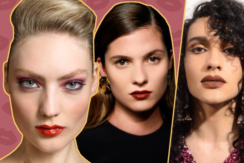 Rossetto scuro: le dark bold lips per un inverno glam