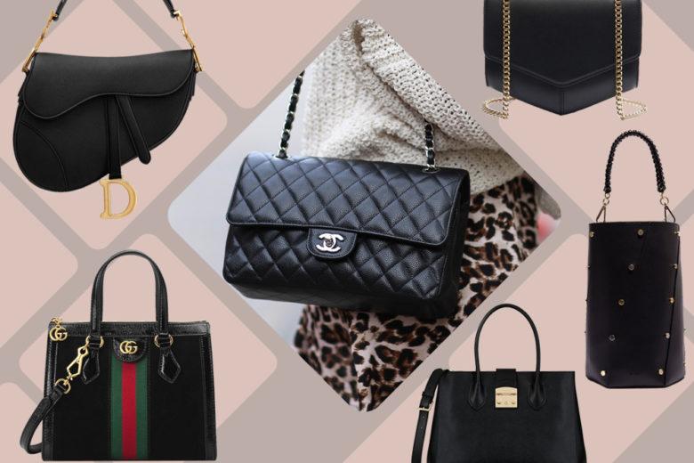 Black Bags: le borse nere con carattere che amerete ora e sempre