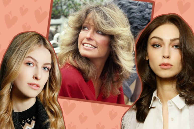 Bouncy hair: i capelli mossi e vaporosi di tendenza in stile Farrah Fawcett