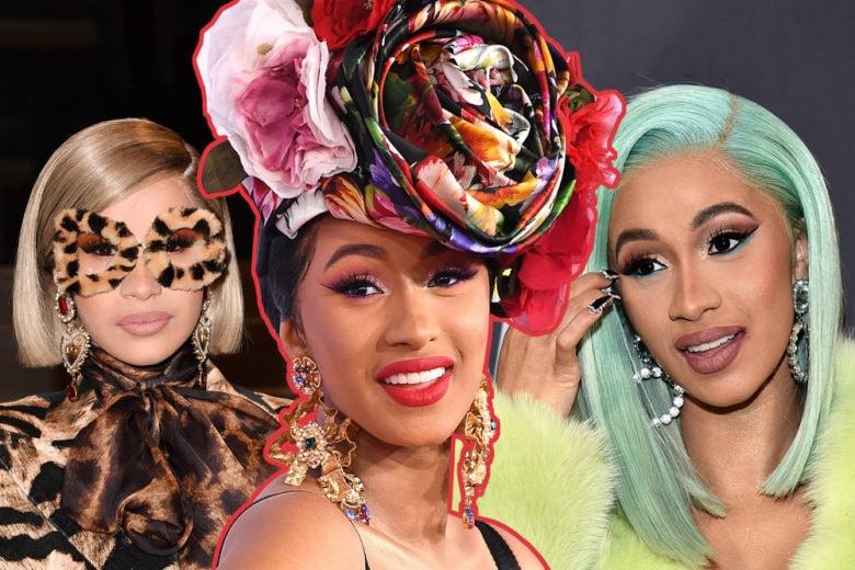Cardi B beauty look: tutto su capelli, make up e stile della rapper