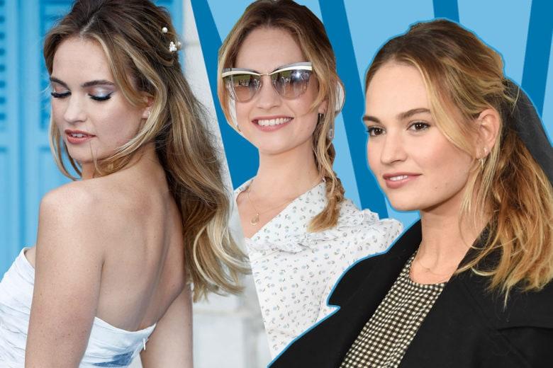 Lily James beauty look: tutto sullo stile, capelli e make up della star di Mamma Mia!