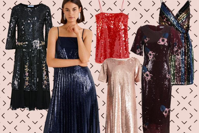 """Abiti di paillettes: i modelli """"sparkling"""" per far festa!"""