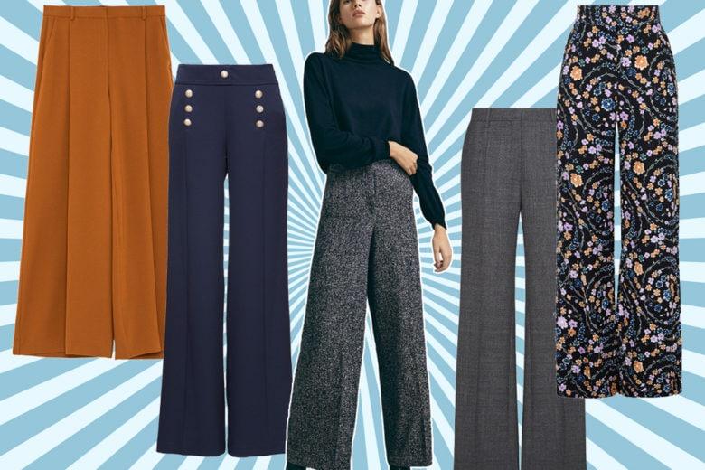 Pantaloni a palazzo: 10 modelli su cui investire quest'autunno
