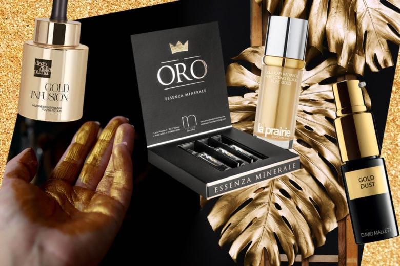 10 prodotti gioiello a base di oro 24k per una serata scintillante