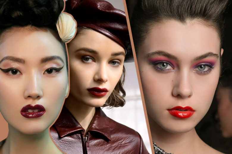 Vamp look: il make up intenso da diva per l'inverno