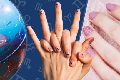 Zodiac manicure: scegli la nail art astrologica per unghie stellari