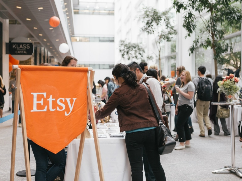 Etsy Made in Italy opening