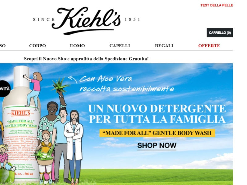 KIEHLS-sconto-black-friday-beauty-2018