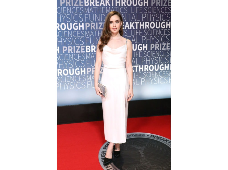 Lily-Collins-in-Markarian-getty