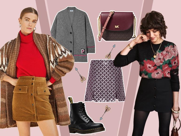 Minigonna in inverno?Ecco come indossarla in 4 look!