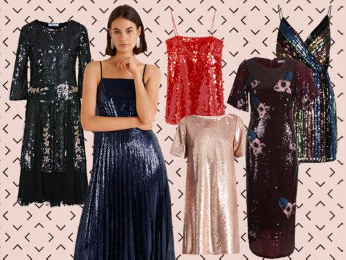fae3fccded88 Abiti di paillettes  i vestiti per le feste di Natale e Capodanno