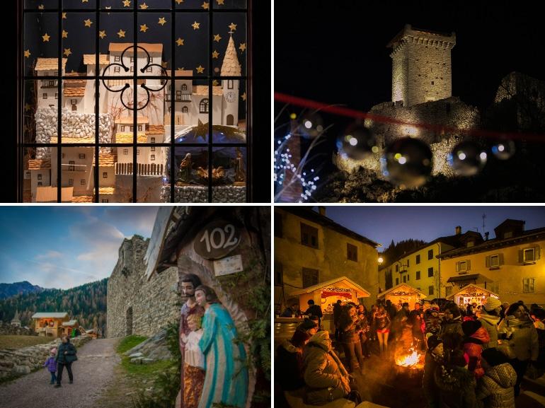Mercatini e presepi di Natale a Ossana Val di Sole Trento