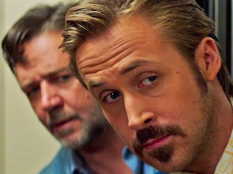 Ryan Gosling sguardo