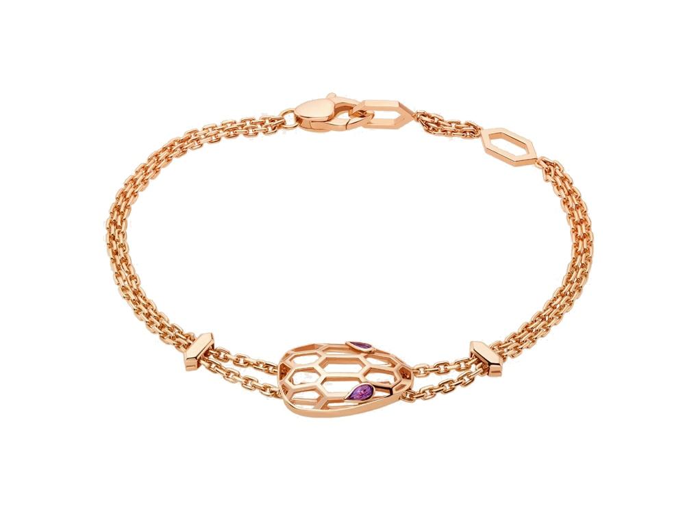 bracciale-in-oro-rosa-con-ametiste-BULGARI-serpenti