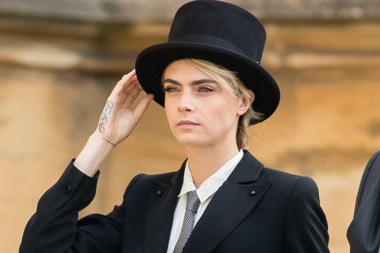 Cara Delevingne aveva chiesto il permesso alla principessa Eugenia per vestirsi da uomo al suo matrimonio