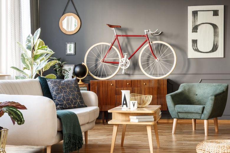 8 idee originali per sistemare la bicicletta in casa