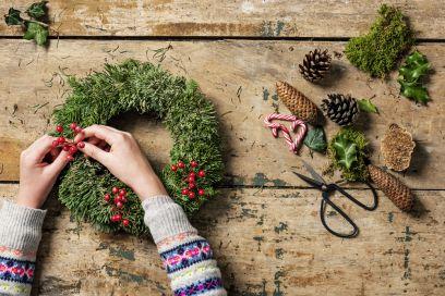 10 idee fai da te per le decorazioni natalizie