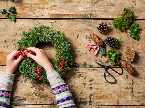 Decorazioni Luminose Natalizie Fai Da Te : Idee fai da te per le decorazioni natalizie