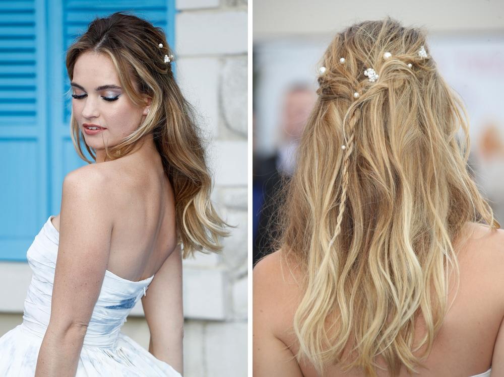 lily james beauty look stile capelli make up attrice mamma mia (3)