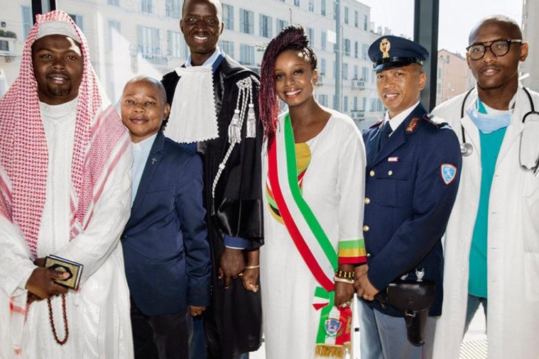 Toscani racconta per Benetton l'integrazione in Italia