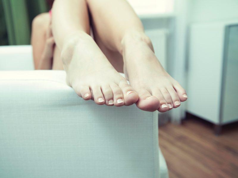 bicarbonato piedi