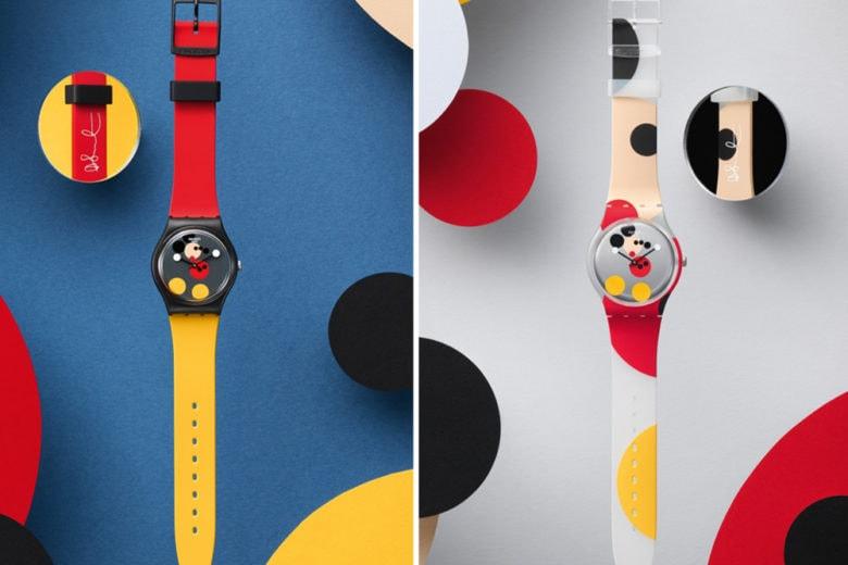Swatch celebra i 90 anni di Mickey Mouse con un'edizione limitata (anzi due)