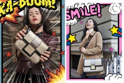 Trussardi Jeans e Aurora Ramazzotti svelano la nuova bag per le