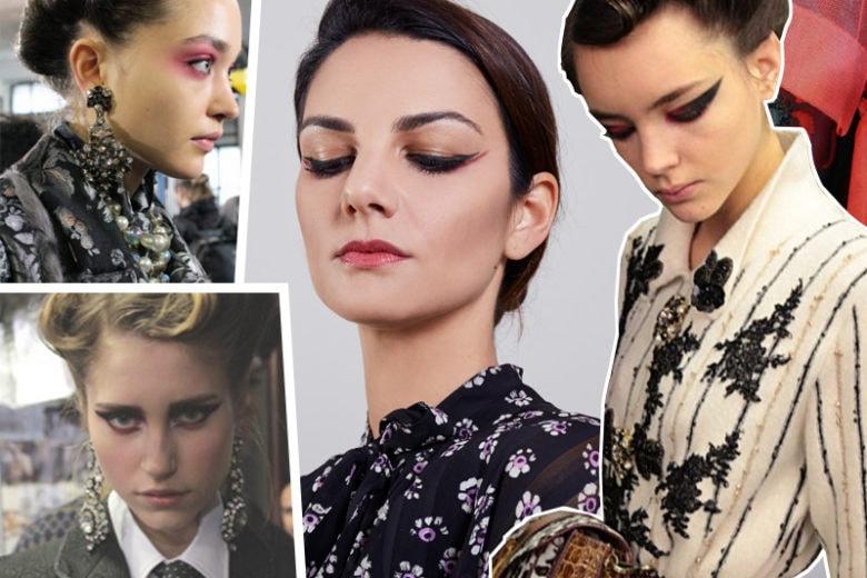 From backstage to beautycase: la tendenza interpretata da Claudia Ciocca porta il rosso sullo sguardo
