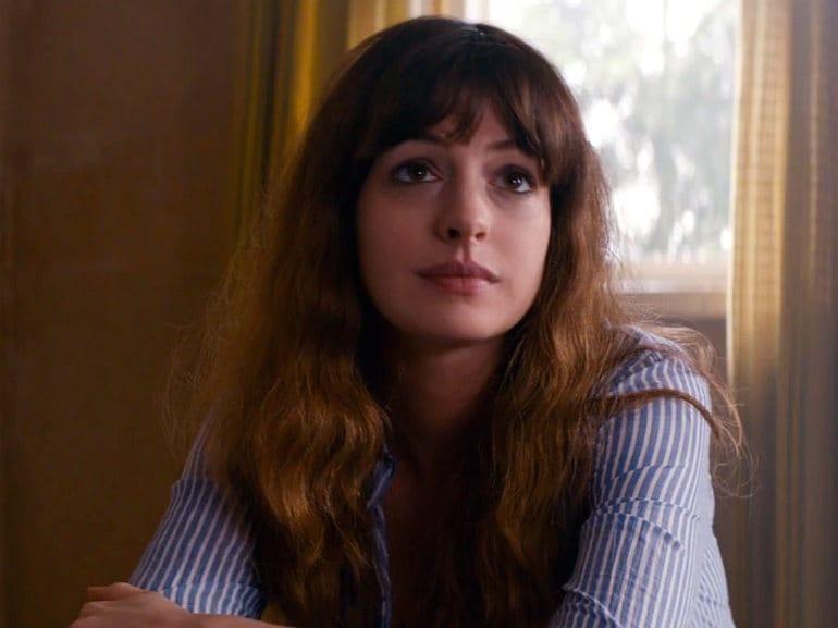 Anne Hathaway sguardo
