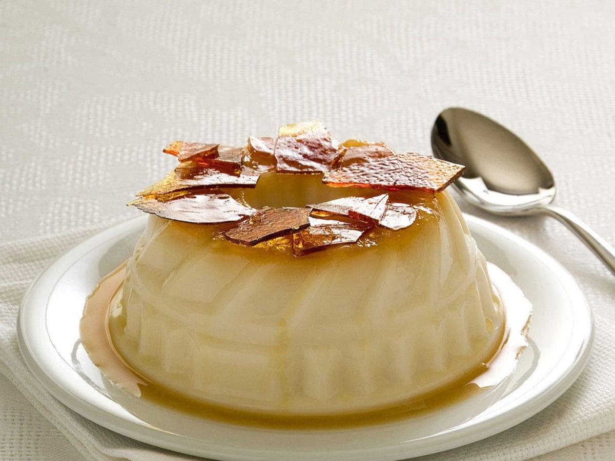 Budino al latte e vaniglia con caramello(1)