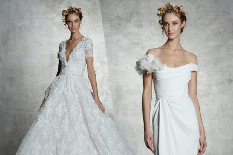 Abiti da sposa: la collezione Marchesa 2019