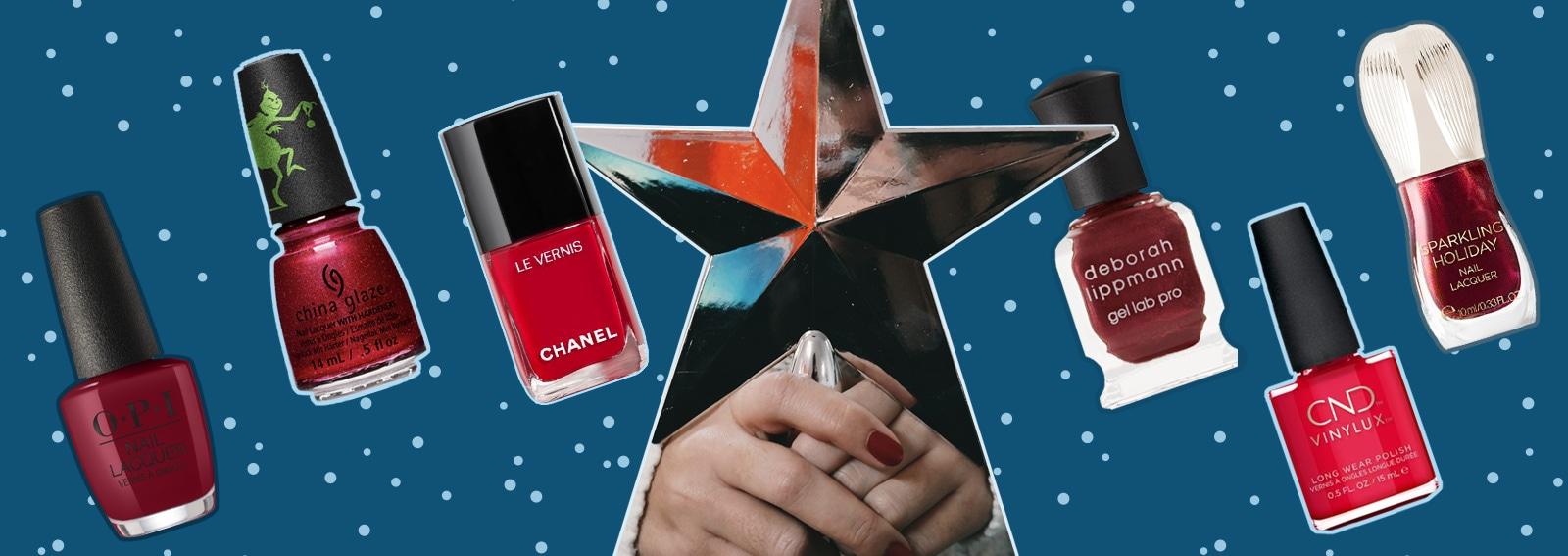 Smalti rossi di Natale: 7 nuance classiche per le vostre unghie delle Feste