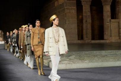 Chanel Metiers d'Art Paris-New York: omaggio all'Antico Egitto