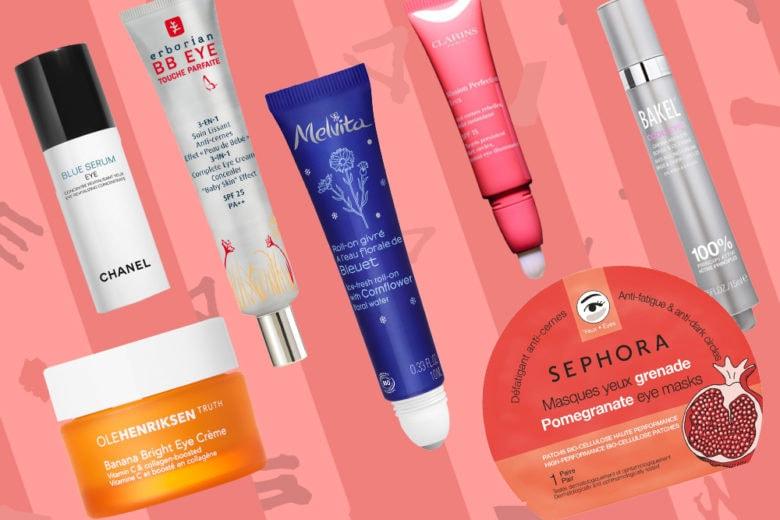 Anti occhiaie e borse: creme e prodotti per ridurle