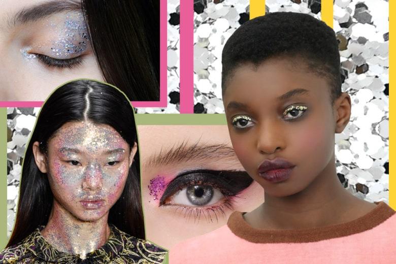 Make up, strass di fine anno: i consigli e le idee da copiare per un look abbagliante