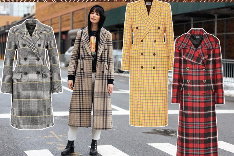 """Cappotti """"check"""": 13 modelli top su cui investire quest'inverno"""