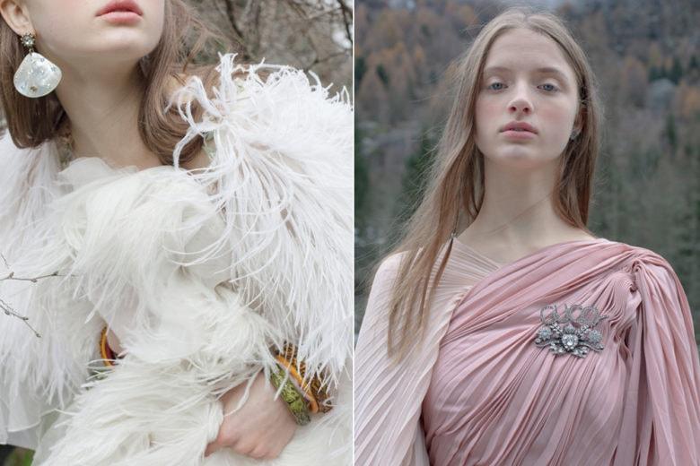 I gioielli Gucci by Grazia: il backstage dell'editoriale