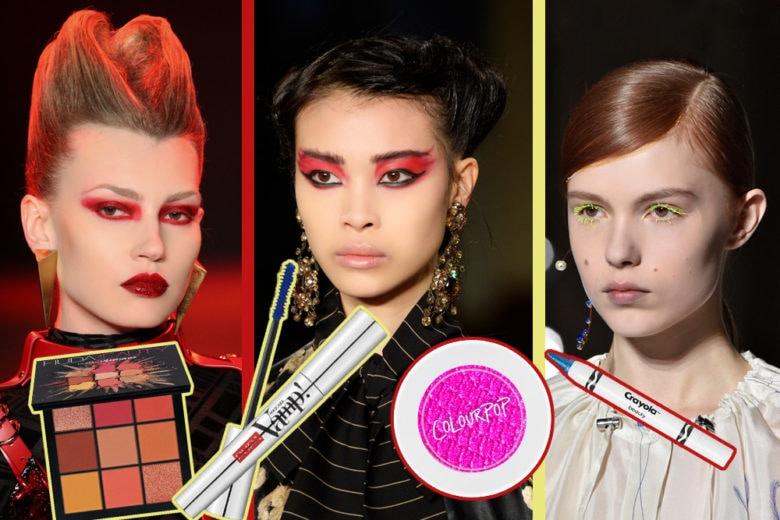 Fluo make up: punta sui colori più accesi per il trucco occhi