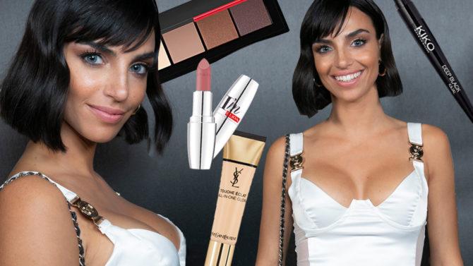 Nicole Mazzocato: copia il make up look nude con viso