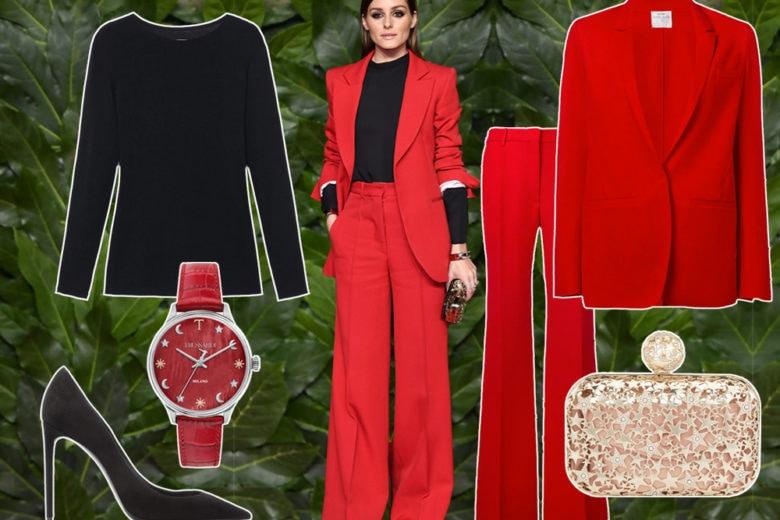 Chic in rosso come Olivia Palermo