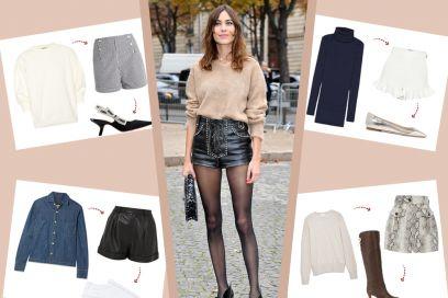 Shorts: 5 idee super per sfoggiarli anche d'inverno