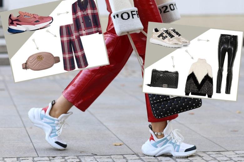 Come abbinare le sneakers: 5 look da provare ora