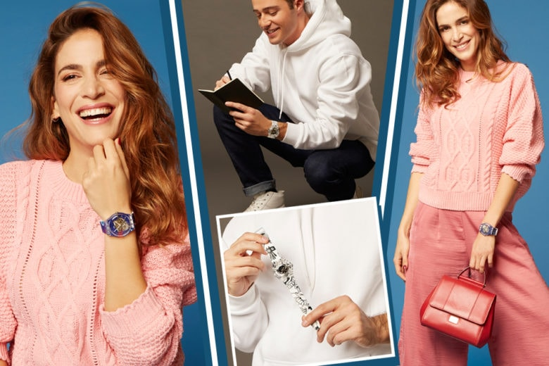 Barbara Donadio, Alessandro Magni e i loro Swatch X You su misura