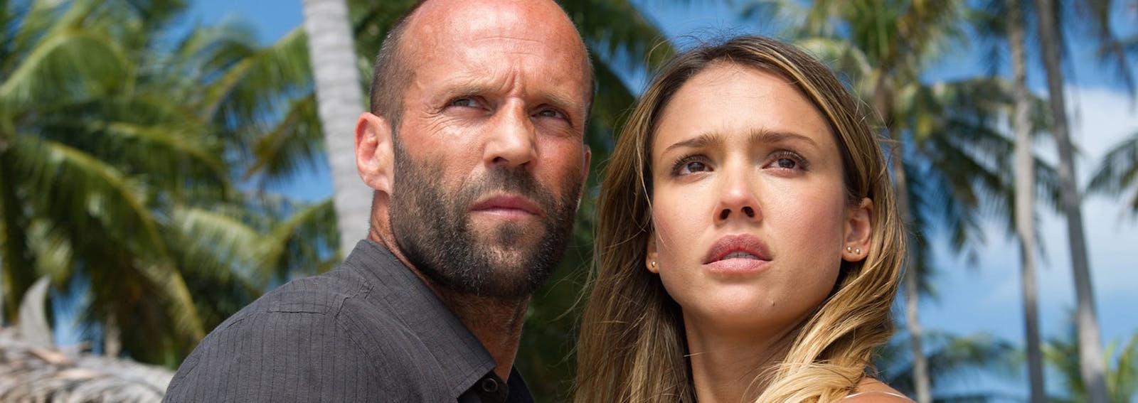 Jessica Alba e Jason Statham