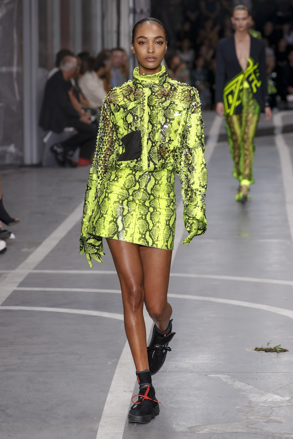 Neon-lime-Off-White