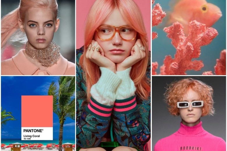 Capelli corallo 2019: le acconciature più belle in tinta Pantone Living Coral