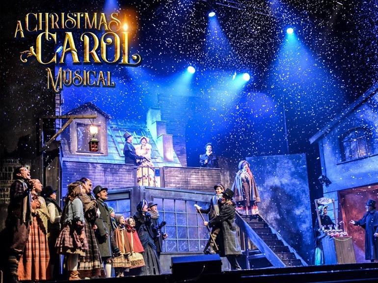 christmas carol musical